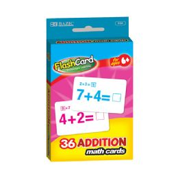 24 of Bazic Addition Flash Cards (36/pack)