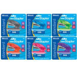 72 of Bazic Mini Standard (26/6) Stapler W/ 500 Ct. Staples