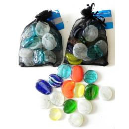 48 of Decorative Jumbo Glass Beads