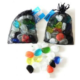 48 of Decorative Assorted Shapes Glass Beads