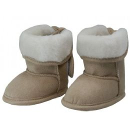 24 of Baby's Velcro Strap Winter Boots