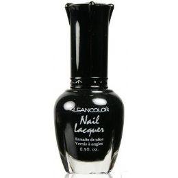 60 of Klean Color Nail Poilsh Number 05 Black