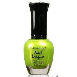 60 of Klean Color Nail Poilsh Number 12 Melon Green
