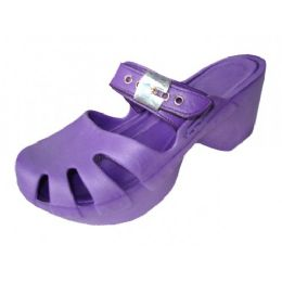 18 of Girls' Wedge Sandals (purple Color Only)