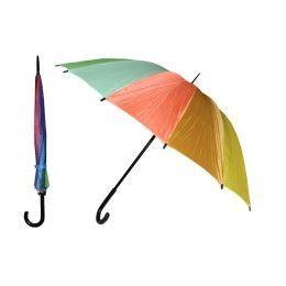 24 of 37 Inches Automatic Cane Rainbow Umbrella