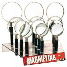 48 of Seevix Magnifying Glasses 12ct