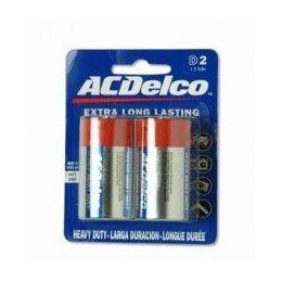 48 of Acdelco Hvy Duty D Battery 2pk