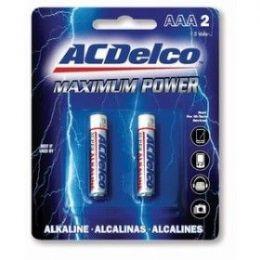 48 of Acdelco Alkaline Aaa - 2 Piece