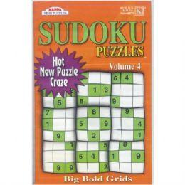 72 of Sudoku Puzzles Big Bold Grids Asst.