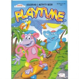 80 of Play Time Color & Activity Book