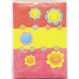 72 of Address Book, 4.5 X 6 , Glitter Flowers, Asst. Designs
