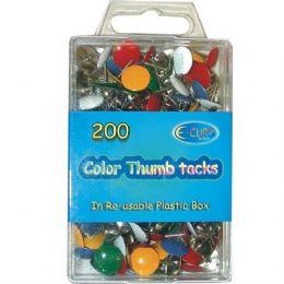 48 of Color Thumb Tacks 200 Count