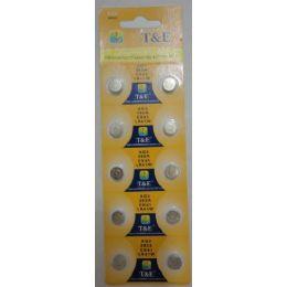 60 of 10pk Ag3 Batteries