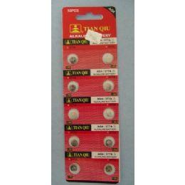 60 of 10pk Ag4 Batteries