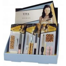 144 of Viva Nail Care Manicure Set In Display