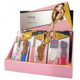 144 of Viva Nail Care Pedicure Set (4 Displays)