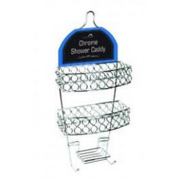 12 of Chrome Shower Caddy