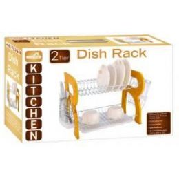 4 of Natural Wooden 2 Tier Dish Rack
