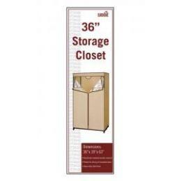 6 of Storage Closet Beige And Brown