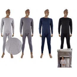 48 of Mens Fleece Thermal SeT-Asst Color