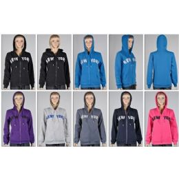48 of Laides Zipper HoodieS- New York