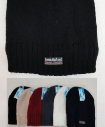 72 of Thermal Insulate Beanie-Solid Colors , Unisex