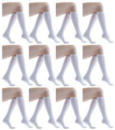 60 of Womens Knee High Socks White Size 9-11