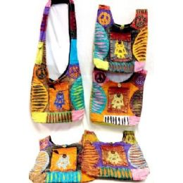 5 of Nepal Hobo Bags With Owl And Front Pocket Tie Dye Purse