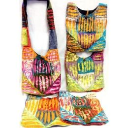 5 of Nepal Cotton Hobo Bags Sling Purses With Tie Dye Cotton