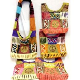 5 of Peace Sign Hobo Bags Sling Purses Assorted Colors