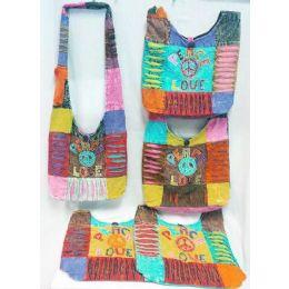 5 of Nepal Peace Love Design Hobo Bags Sling Purses Ast