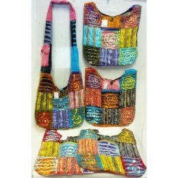 5 of Spiral Design Hobo Bags Sling Purses Ast