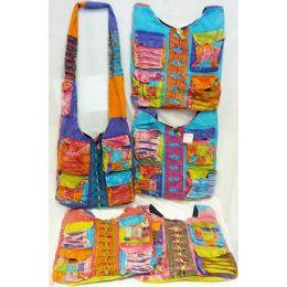 5 of Nepal Four Pockets Design Hobo Bags Sling Purses Ast