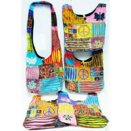 5 of Butterfly Peace Design Hobo Bags Sling Purses Ast
