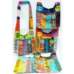 5 of Nepal Flower Peace Design Hobo Bags Sling Purses Ast