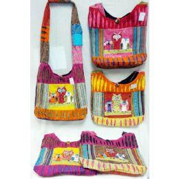 5 of Nepal Owl Group Design Hobo Bags Sling Purses Ast