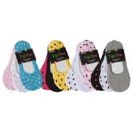 60 of 3 Pack Ladies Foot Liners Assorted Colors