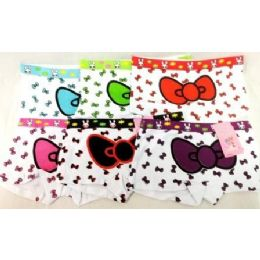 72 of Girl's Hello Kitty Bow Under Pants Panties Shorts