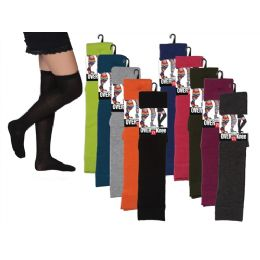 48 of Women Over The Knee Solid Colors