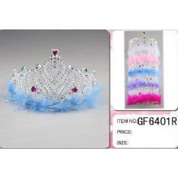 36 of Wholesale Plastic Girl Crown With Feather