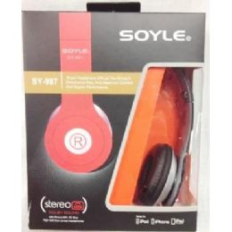 60 of Soyle Sy987 Headphones Assorted Colors