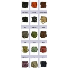 36 of Sling Purses Soft Leather Crossbody Bag Assorted Colors