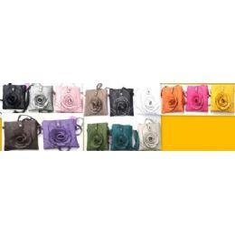 36 of Small Flower Fashion Sling Purse Bags 12 Pcs