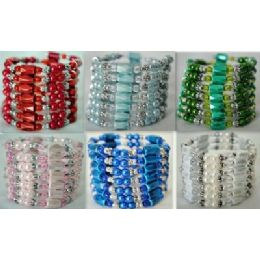 42 of 12 Pcs Colored Magnetic Beads Warps