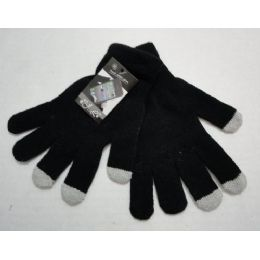 120 of Wholesale Texting Gloves Lady's Size Black Color