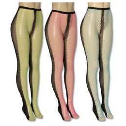 36 of Ladies Assorted Color Tights
