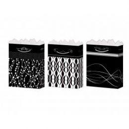 288 of GifT-Bag Medium Gls Black/white 4 Styles