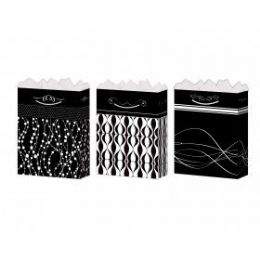 144 of GifT-Bag Large Gls Black/white 4 Styles
