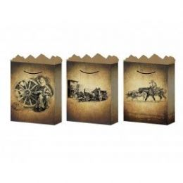 288 of G-Bag Medium Mat Old West 3 Styles
