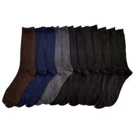 120 of Men's Dress Sock In Assorted Colors